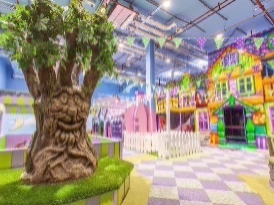 Admission Tickets for 1 hour 45 minutes experience at Fun Street accessing toddler play, play houses, climbing wall, indoor beach, draw alive, magic laboratory, unicorn race, dynamic ground, crazy wall, football, foosball, basketball hoop, table tennis and kids bowling.